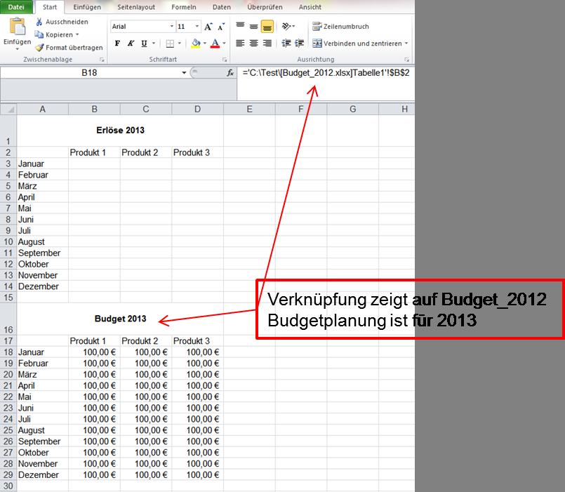 Excel-Verknüpfungen einfach anpassen | IT-Service Ruhr