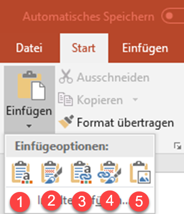 Excel-Diagramm in Sekunden in PowerPoint