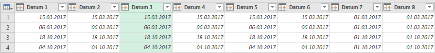 Datumsumwandlung in Power Query Teil 2