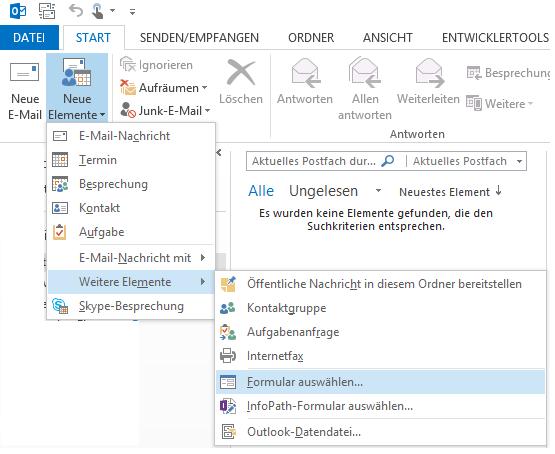 Quick Templates For Outlook Screenshots Vorgefertigte