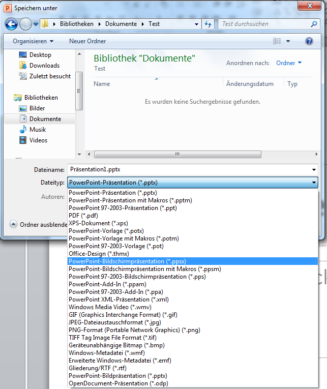 PowerPoint-Präsentation automatisch starten | IT-Service Ruhr
