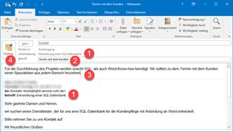 E-Mails in Outlook gemeinsam bearbeiten