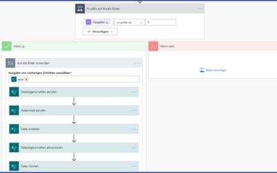 Mit Power Automate Dateien von einer Dokumentenbibliothek in eine andere verschieben